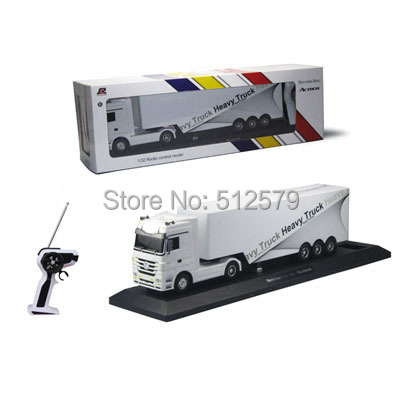 Фотография Remote control 1:32 Detachable RC Trailer Truck Toy with light and sounds  Car