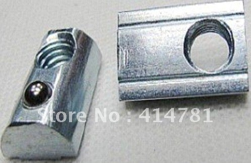 aluminium profile connector elasticity aluminum screw nut fastener - fitting(China (Mainland))