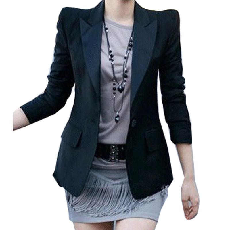 Blazer Shoulder Size Plus Size Women Blazers