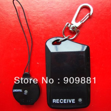 Anti Lost anti lost anti losing Reminder Alarm Bell system security personal guard (black) Free shippinig(China (Mainland))
