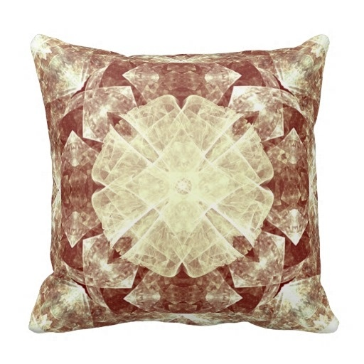 Less Gothic Rose Charm Lumbar And Throw Pillow Case (Size: 20
