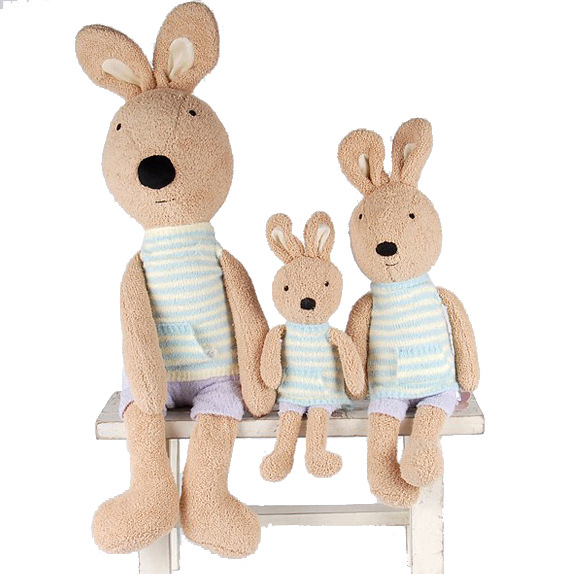 SG323 twists sleeveless shirt models genuine security lesucre sugar rabbit doll plush toys manufacturers and wholesale(China (Mainland))