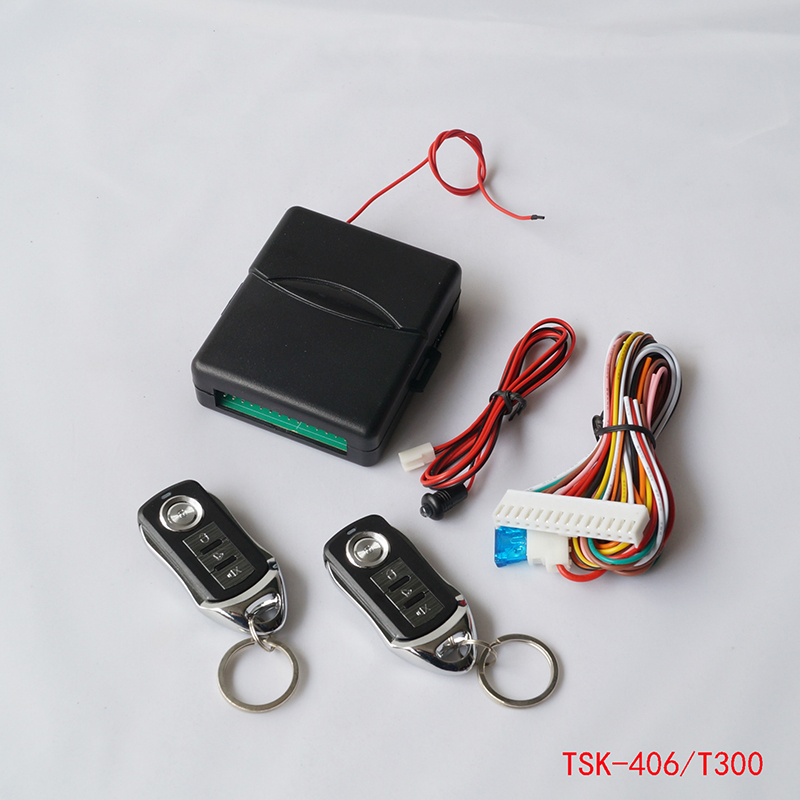 fecho central Universal Car Alarm Systems Car Kit Remote Central Locking Door Lock Keyless System of New Vehicle Entry With Remo(China (Mainland))