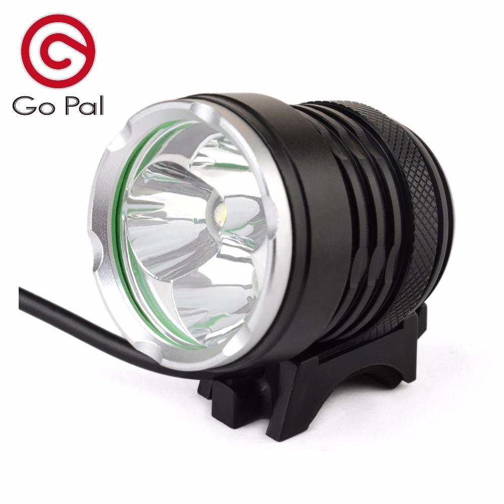 Go Pal M9 6000Lumen Bicycle bike light cree U2 Head Lamp LED 6400mAh With Chargeable Battery(China (Mainland))
