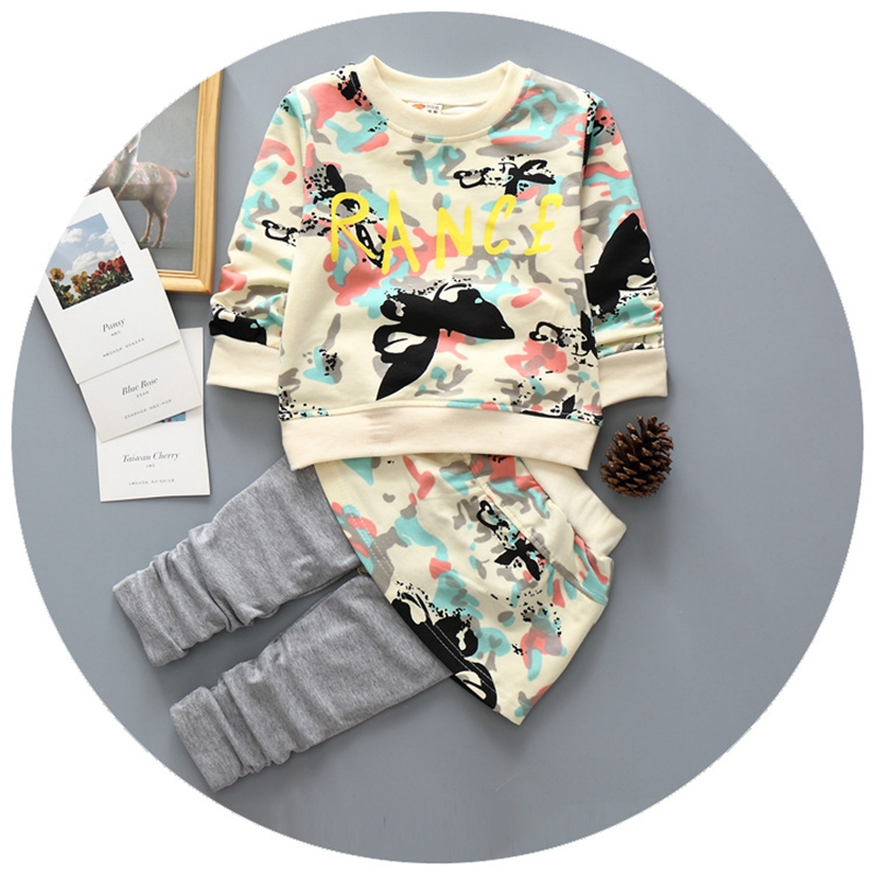 infant baby girl clothes sets 2016 new Spring Autumn baby girls suits 2pcs long sleeve pullover printed shirts+pants with skirt<br><br>Aliexpress