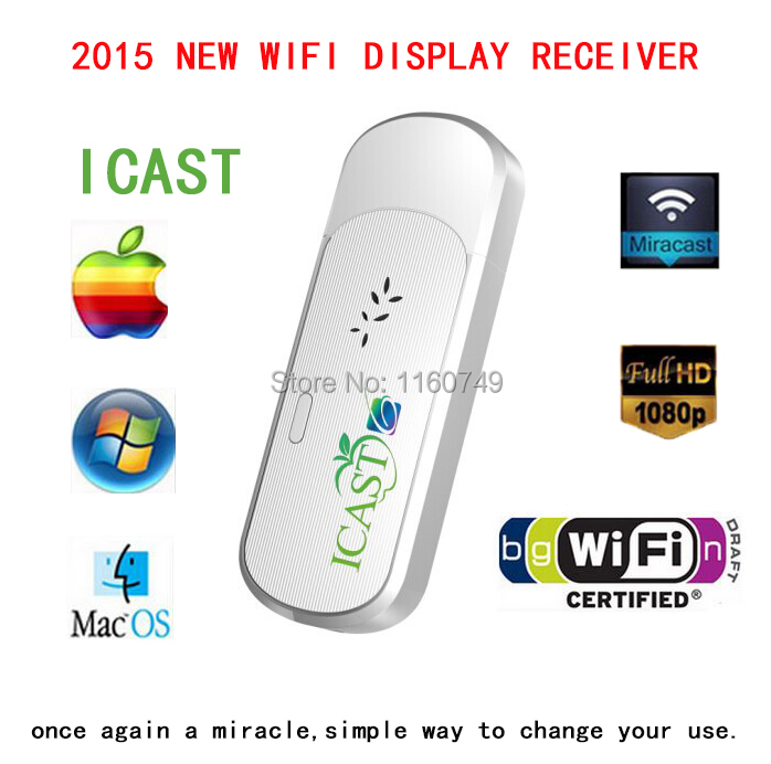 TV Stick OEM DLNA Miracast Wifi Dongle TV , Ezcast 2 V5ii I6 ezcast m2 wireles hdmi wifi display dongle adapter tv stick receive andriod miracast dlna support ios android windows