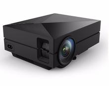 2015 Newest GM50 Upgrade GM60 3D HD 1080p Mini portable Projector USB&SD VGA HDMI LCD Projectors beamer Wholesale Russian
