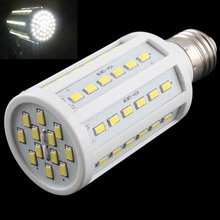 Super Bright 15W 60 LED 5730 SMD E27 Corn Light Bulb Energy Saving Lamp Pure White #17229(China (Mainland))
