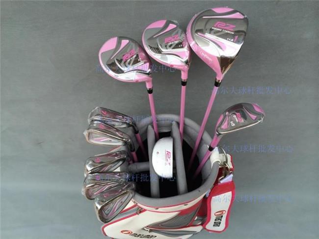 Women Maruman RZ Golf Clubs Maruman Driver + Fairway Wood + Utility + Irons + Putter + Bag L-Flex Graphite Shaft With Head Cover(China (Mainland))