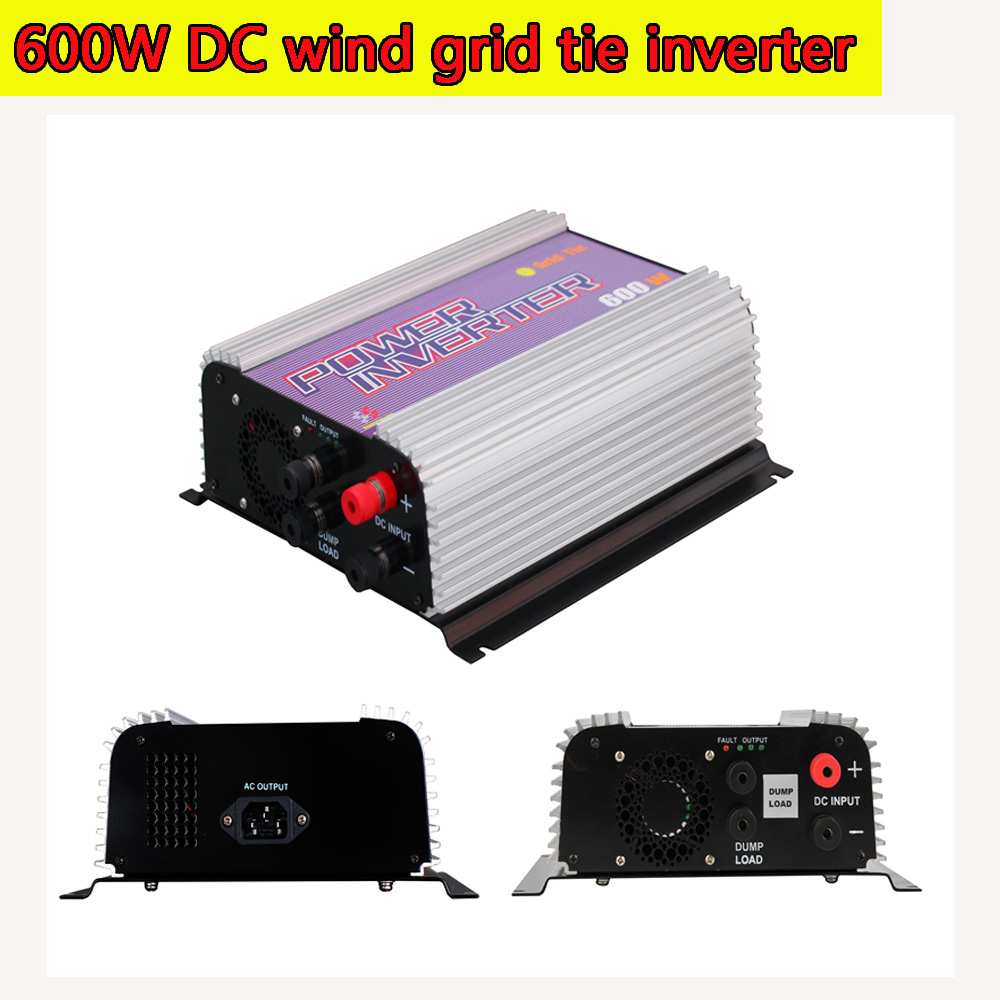 600W Wind Turbine Grid Tie Power Inverter with Dump Load Resistor MPPT Pure Since Wave 10.5-30V/22-60V DC Input Wind Turbine NEW<br><br>Aliexpress