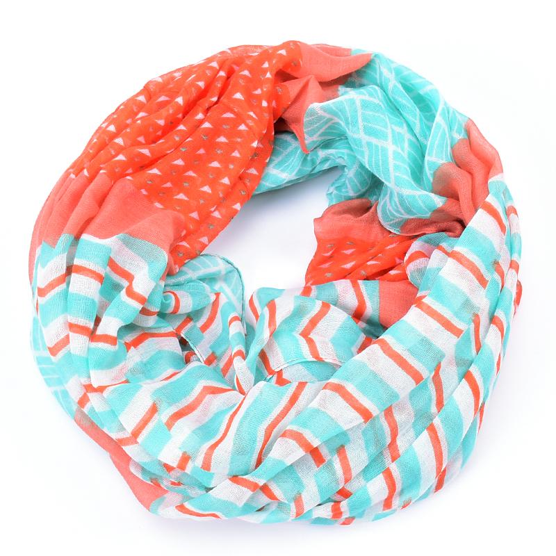 plaid scarf foulard women stripe bufandas mujer echarpes zig zag infinity foulards femme winter font b