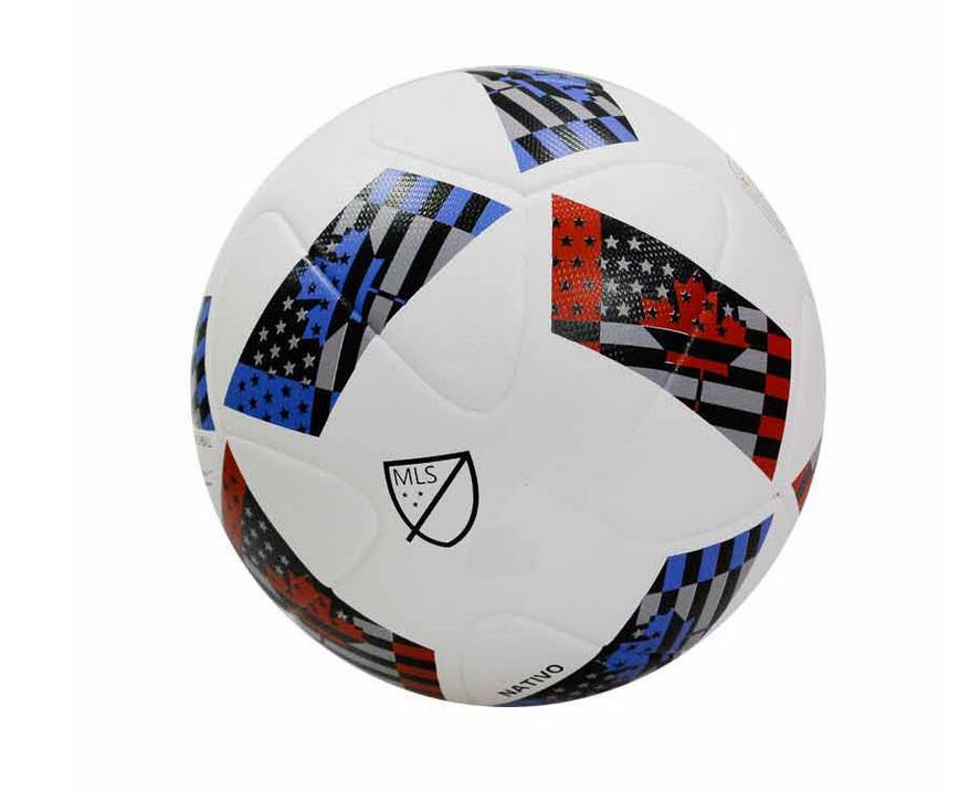 New Arrival 2016/17 Season Major League Soccer Size 5 Seamless PU Soccer Ball Top Quality MLS Match Football With Gas needle!!!(China (Mainland))
