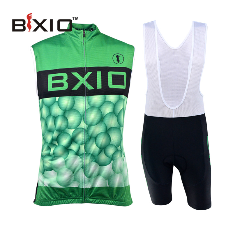 BXIO Brand Pro Cycling Jersey Set Mountain Bike Jerseys Ropa Ciclismo Hombre Verano 2016 Sleeveless Raiders Jersey BX-0309G056(China (Mainland))