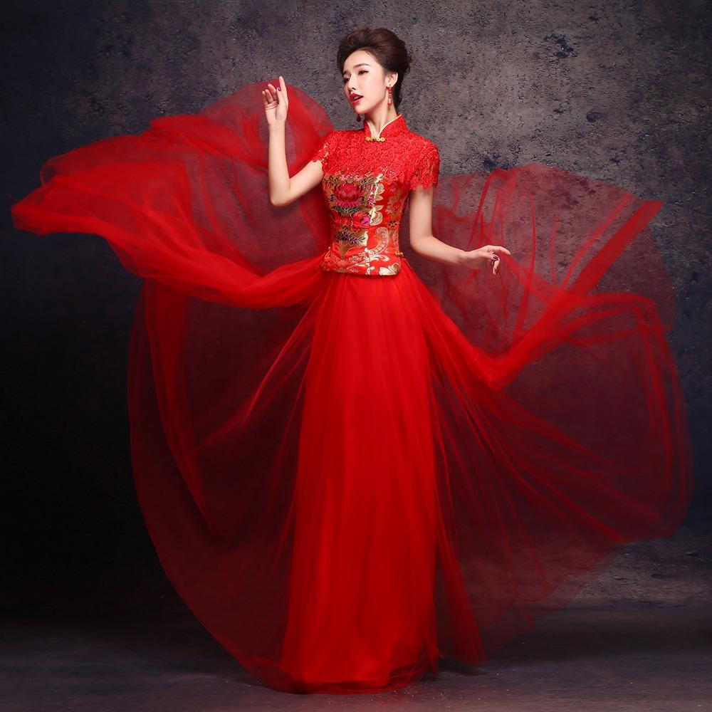 Abito da sposa tradizionali cinese