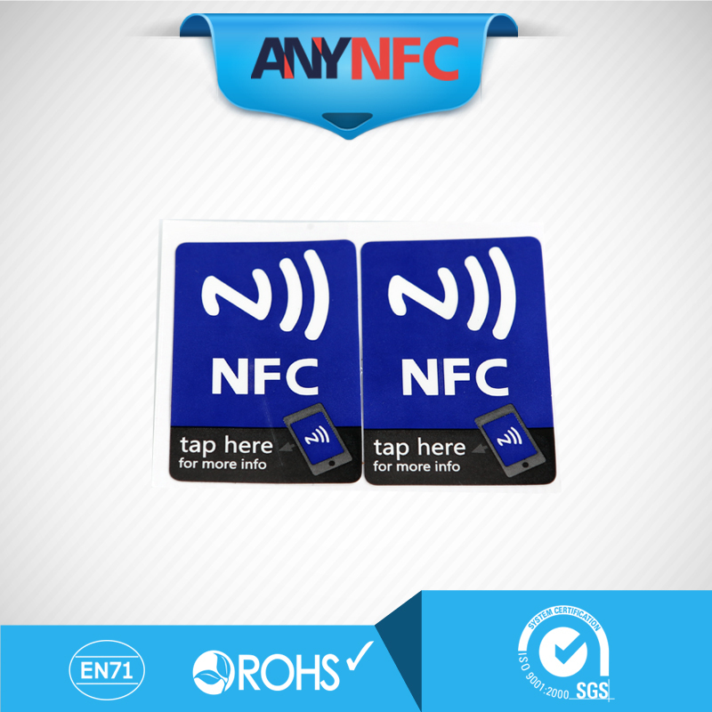 Free shipping(4 Pcs)NFC Tags Stickers Ntag213 13.56mhz Rfid Tag for Samsung galaxy s5 Note3 S4 Sony Xperia Nokia Nexus4/5 LG HTC(China (Mainland))