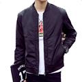 2016 Latest Spring Men Baseball Bomber Jacket Plus Size 4XL Veste Homme Mens Jackets And Coats