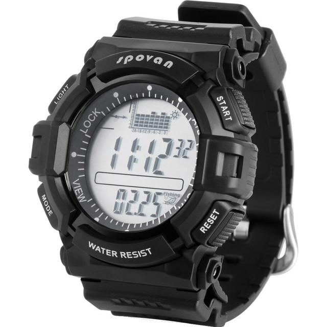 Новый альтиметр рыбалка барометр цифровой из светодиодов спортивные часы многофункциональный мужская марка открытый восхождение RELOGIO MASCULINO мужской