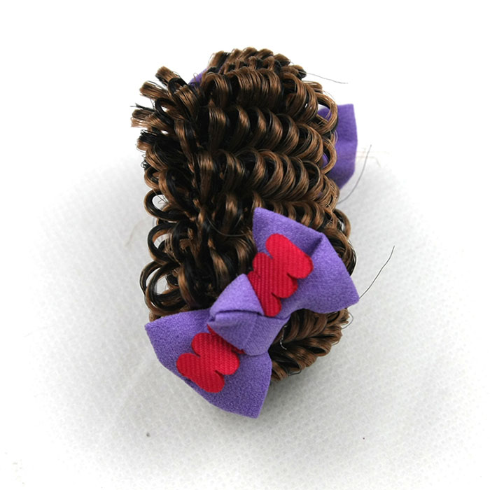 fashion  popular women Headband wig braided lace with full head tie wigs short curly wigs for black 8 colors available<br><br>Aliexpress