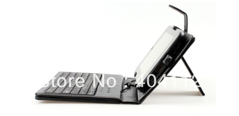 "Free Shipping Leather Case USB Keyboard Stylus Pen for 7"" 7 inch Tablet PC Android ePad MID"