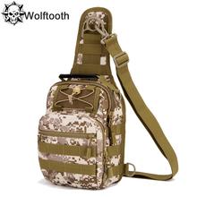 Men Tactical Chest Bag Crossbody Single Shoulder Bag Fly Fishing Camping Equipment Outdoor Sport Nylon Wading Messenger Bags