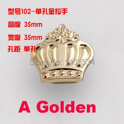 Гаджет  10pcs 35mm chrome gold antique brass Crown Knobs Dresser Drawer Knobs Pulls Handles cabinet Knobs Decorative Furniture Knob None Мебель
