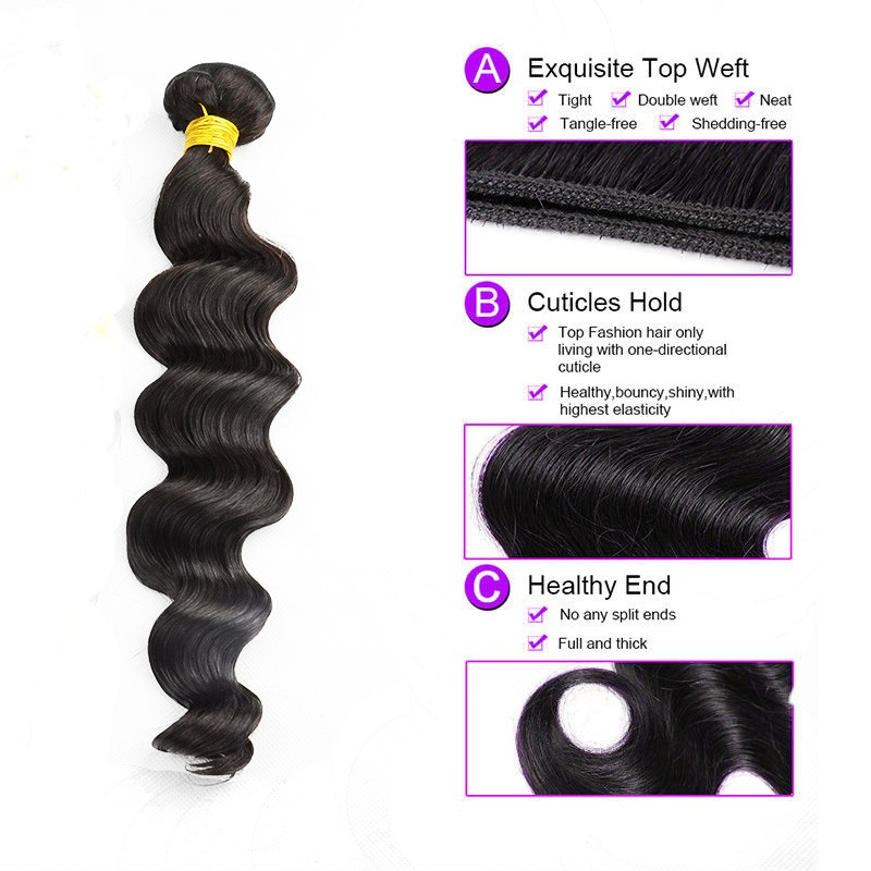 7A Brazilian Body Wave Bundles Natural Color T Ombre #613 Human Hair Extensions 1pec 100g Virgin Hair Weft 8″-30″inches In Stock