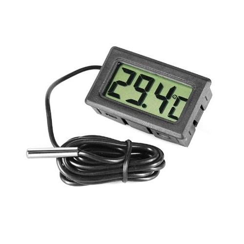 Usa voorraad! Nieuwe digitale display lcd thermometer koelkast vriezer koelkast + batterijen(China (Mainland))