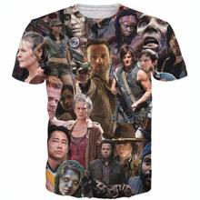 Buy Raisevern new fashion mens 3D t shirt Walking Dead T-Shirt Rick Grimes Carl Daryl Michonne zombies 3d tees shirts for $8.55 in AliExpress store
