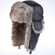 Russian Women Men Winter Hats Outdoor Thickening Cotton Blend Hat Earflap Keep Warm Snow Caps Multifunction Bomber Hats Winter(China (Mainland))
