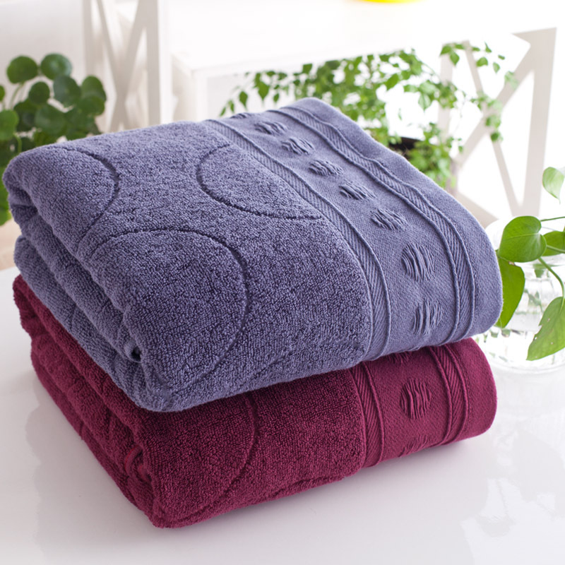 Cheap quality towels washcloths 70*140cm large beach towels cotton adult thick jacquard towels designs luxury hotel bath towels(China (Mainland))
