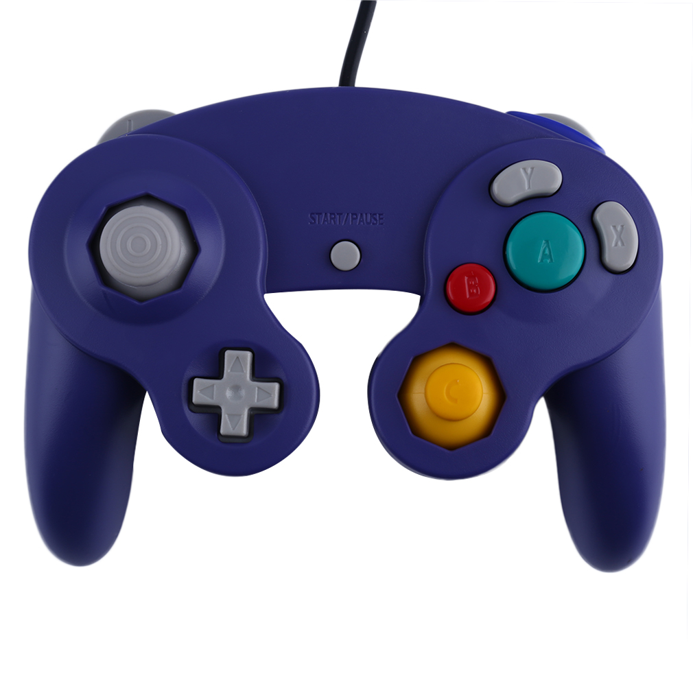 New Game Controller Gamepad Joystick for Nintendo Game Cube For Wii Platinum Purple(China (Mainland))