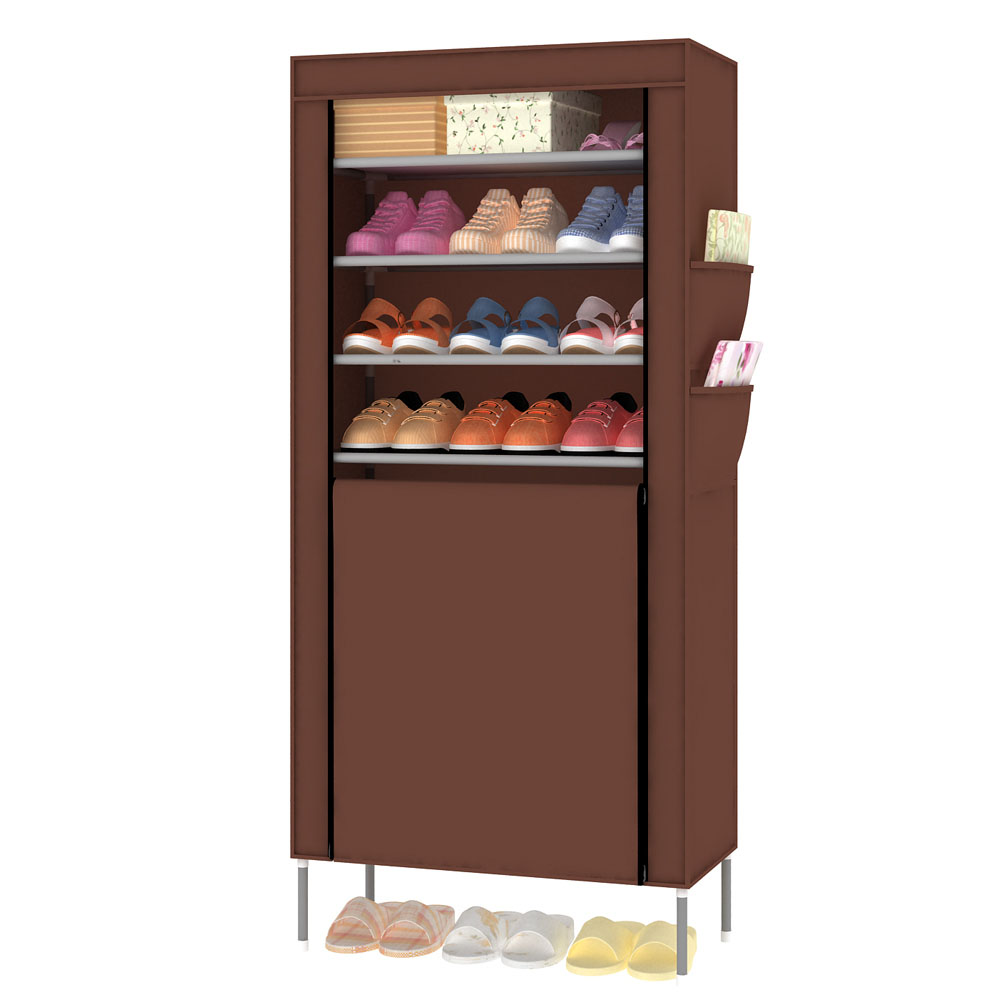 Shoe Cabinet Shoes Rack Prevent Dust And Moisture Storage Large Capacity Home Furniture DIY Simple(China (Mainland))