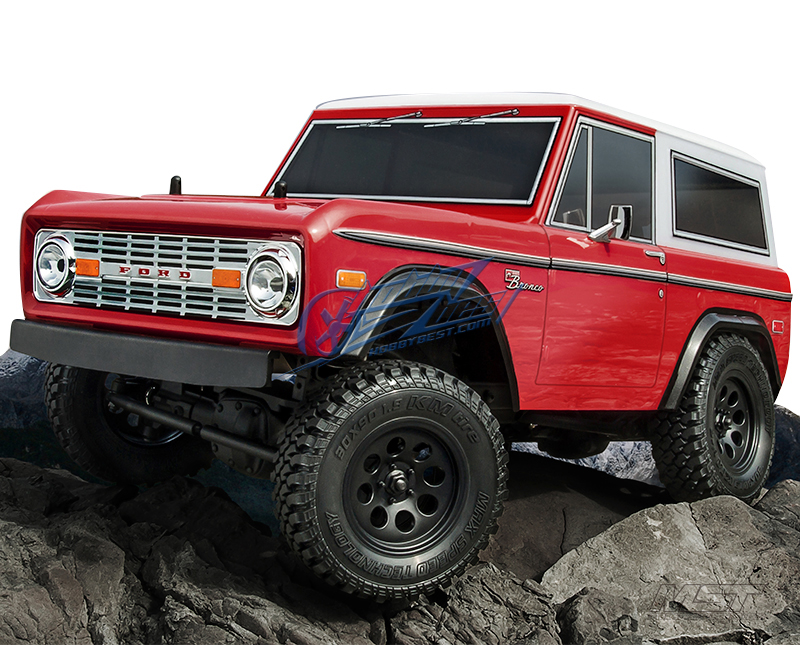 MST CMX 1/10 4WD High Performance Off-Road Car KIT - w/ESC&motor, FORD Bronco [532140](China (Mainland))
