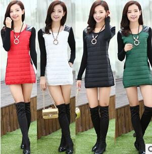 2015 new Fashion Women long Warm parka jacket , Autumn Winter Female Down Jacket Women Winter Coat Overcoat Padded Women coat(China (Mainland))