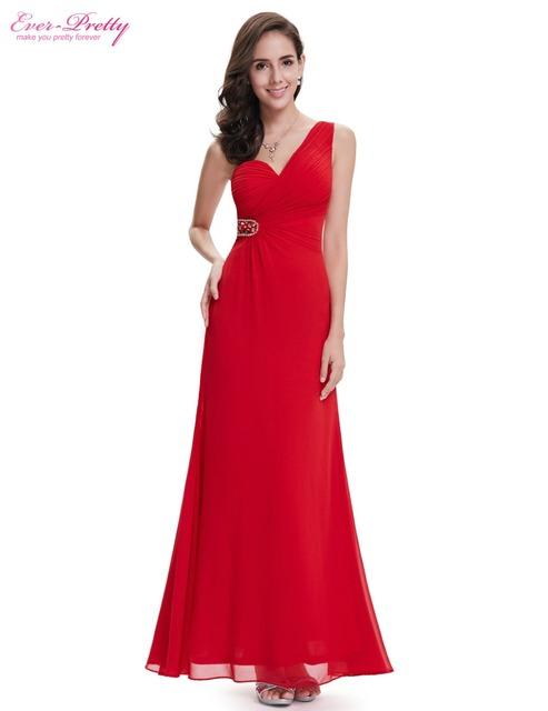 Вечерние платья одно плечо красный линии длиной макси для женщин HE08161VE Жилетido ...