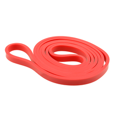 0 5 Rubber Stretch Elastic Resistance Band Exercise Loop Strength GYM Bodybuilding Fitness Equipment Red Free