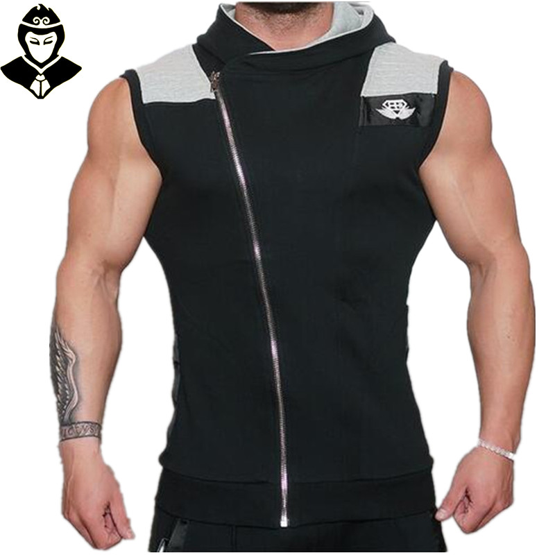 2016 Newest BE Cotton Hoodie Sweatshirts fitness clothes Gym bodybuilding tank top men brand clothing sport Tees Shirt gym vest(China (Mainland))