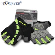 Anti-slip Cycling Gloves Gel Padding Bike Gloves Sports Half Finger Gloves Mtb Bicycle Equipment Size S-XL(China (Mainland))