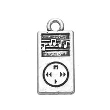 Zinc Alloy Antique Silver/18K Gold Plated Stylish MP3 Player Musical Charm Jewelry(China (Mainland))