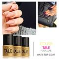 FOCALLURE 12ml Matte Top Coat Nail Gel Polish Long Lasting Matte Top coat LED UV Nails