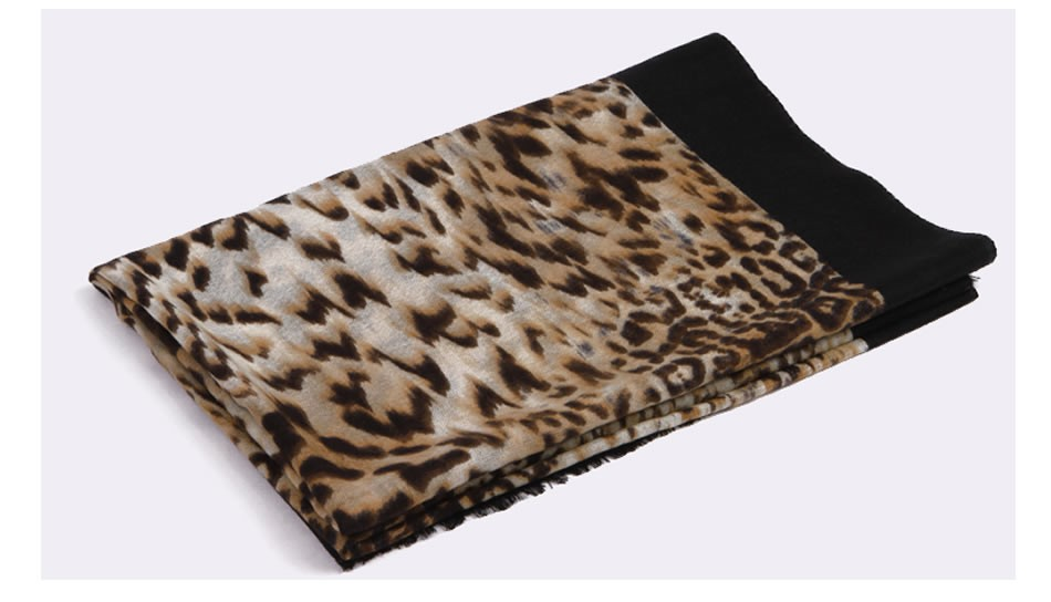 free shipping fashion all-purpose scarves leopard print scarf new style 80S wool scarves autumn and winter shawl Rainbo