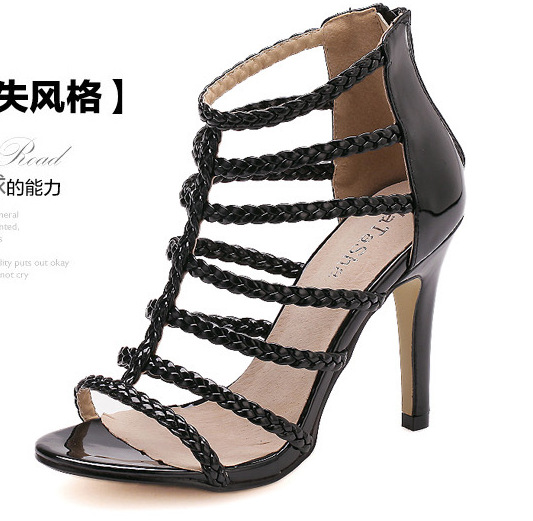 2015 European leg of foreign trade big nightclub fine with Roman shoes sandals mhyd8283-8(China (Mainland))