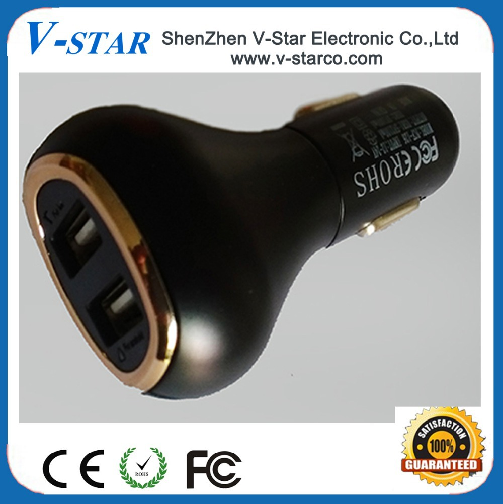 Wholesale Best Quality USB Battery Car Charger(China (Mainland))
