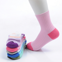 Free Shipping Brand Children Spring Summer 100% Cotton Socks For Girl Student School Short Socks Boy Kid Sports Socks 6pairs/lot(China (Mainland))