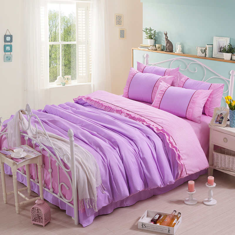 Purple bed spread reviews online shopping purple bed - Purple and pink comforter ...