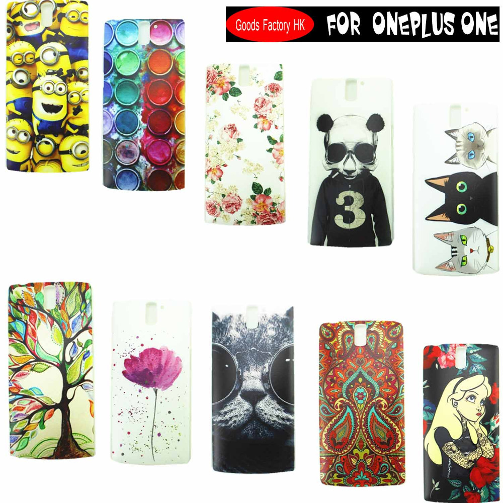 New Original Oneplus One hard PC Back Cover Protective Case One Plus One Phone Back Battery cover(China (Mainland))