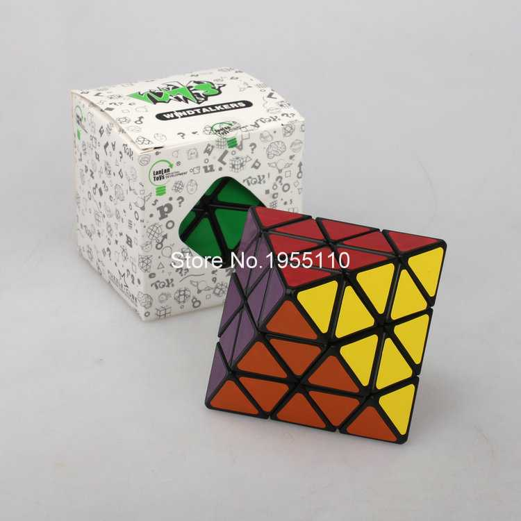 LanLan Magic Cube New Style Fashion And Interesting Puzzle Cube Toy For Children(China (Mainland))