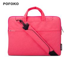 """Messenger Bag Handbag case Laptop Sleeve Bag for Apple Macbook Air Pro Retina 11 12 13 15 11.6 13.3 15.4 """" Men Women Shoulder"""