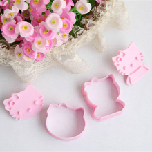 Buy 2PCS Cute stereo KT CAT shape mold sugar Arts set Fondant Cake tools/cookie cutters hello kitty cake mold Kitchen Tools for $1.17 in AliExpress store