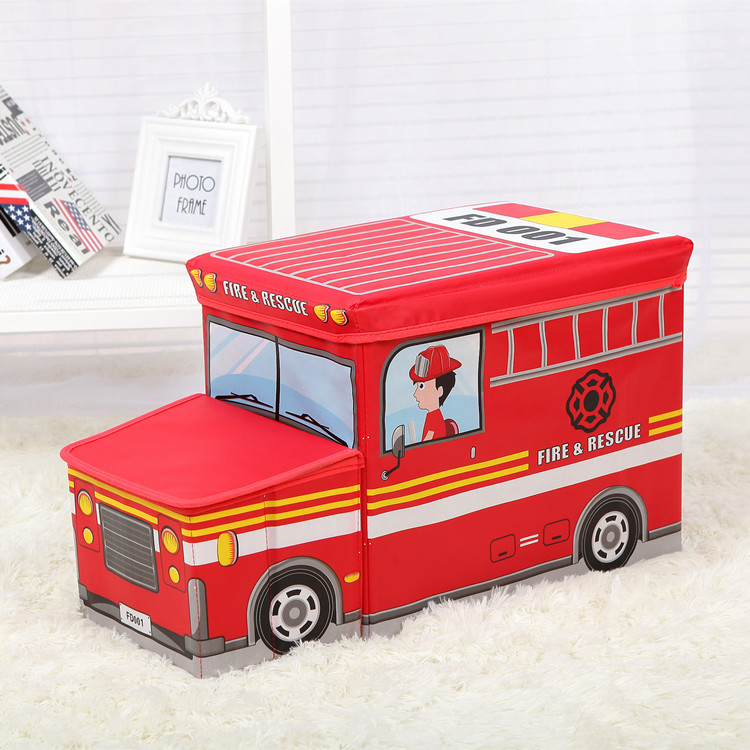 waterproof multi-function folding stool storage box large school bus car child stool storage box(China (Mainland))